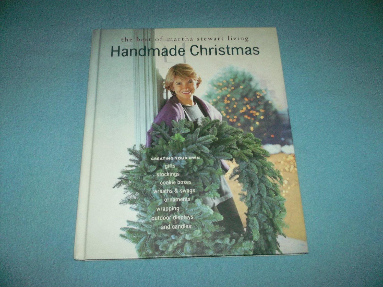 Martha Stewart Handmade Christmas Hc Book Wreaths Swags Candles