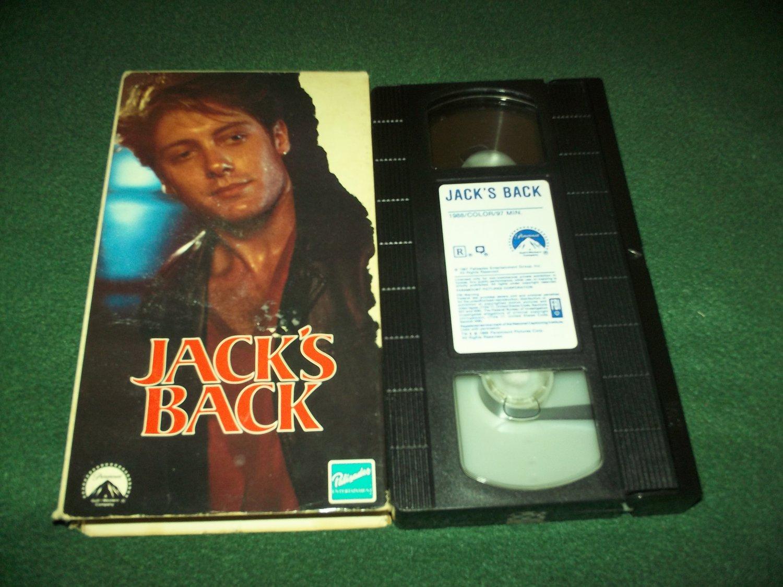 JACK'S BACK~VHS~JAMES SPADER, CYNTHIA GIBB~1988 THRILLER