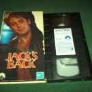 JACK'S BACK~VHS~JAMES SPADER, CYNTHIA GIBB~1988 THRILLER