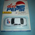DIET PEPSI COLA DIE CAST METAL CAR~MINT ON CARD~GOLDEN WHEEL~RACING