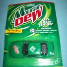 MOUNTAIN DEW COLA DIE CAST METAL CAR~MINT ON CARD~GOLDEN WHEEL~RACING