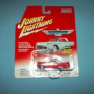 JOHNNY LIGHTNING CAR~DIE-CAST METAL CAR~1956 RED FORD THUNDERBIRD~