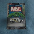 MARVEL COMICS~DIE-CAST METAL CAR~MINT~ HULK HUMVEE