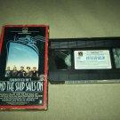 AND THE SHIP SAILS ON~VHS~FREDDIE JONES, BARBARA JEFFORD~1984 FEDERICO FELLINI FOREIGN FILM