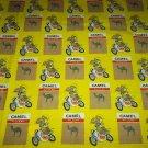 JOE COOL CAMEL CIGARETTE AMA MOTORCYCLE ADVERTISING SCARF~SMOKING COLLECTIBLE