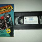THE HISTORY OF THE HARLEY DAVIDSON MOTORCYCLE~VHS~CYCLES, BIKES, KNUCKLEHEADS~1990