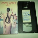 APRIL FOOL'S DAY~VHS~DEBORAH FOREMAN, GRIFFIN O'NEAL, JAY BAKER~1986 TEEN HORROR