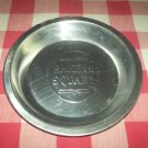Vintage BAKERS SQUARE Aluminum Pie Tin Plate Pan~Bakeware~Advertising~Metal~Decor