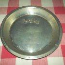 Vintage BAKE KING Aluminum Pie Tin Plate Pan~Bakeware~Advertising~Metal~Decor