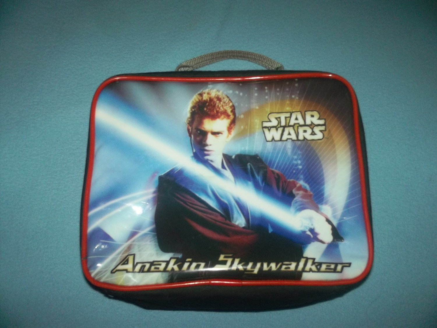 STAR WARS ANAKIN SKYWALKER LUNCH TOTE BAG~2002 INSULATED