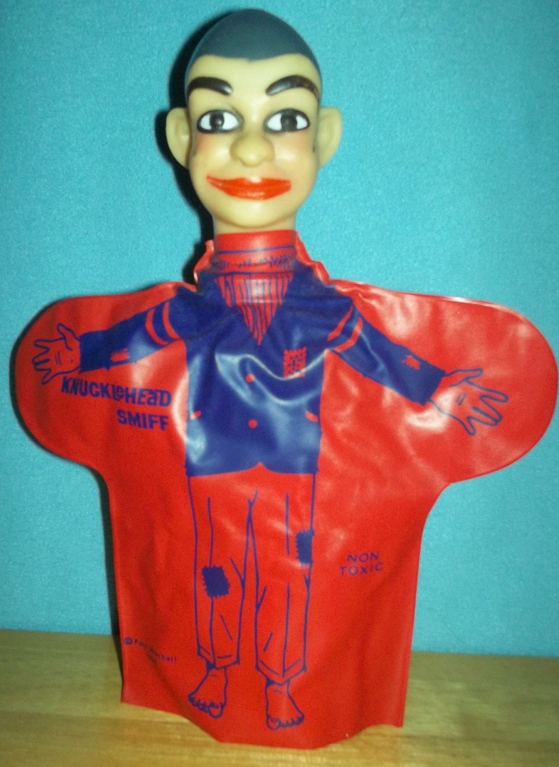 *SIGNED* PAUL WINCHELL VINTAGE KNUCKLEHEAD SMIFF HAND PUPPET DOLL 1966