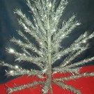 CAREY-MCFALL MID-CENTURY VINTAGE ALUMINUM TAPER TREE CHRISTMAS 4FT EX COND W/BKLET, BOX