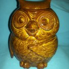VINTAGE WOODSY THE OWL COOKIE JAR MCCOY POTTERY #204 BROWN
