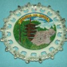 JAPANESE TEA GARDEN Golden Gate Park SOUVENIR PLATE Japan CALIFORNIA