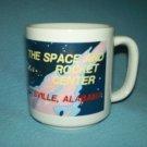 SPACE AND ROCKET CENTER Huntsville, AL SOUVENIR Mug COLUMBIA SHUTTLE