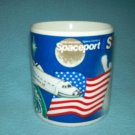 NASA KENNEDY SPACE CENTER SPACEPORT Souvenir MUG Shuttle BECKY