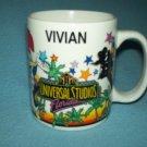 UNIVERSAL STUDIOS FLORIDA Souvenir MUG Woody Woodpecker VIVIAN