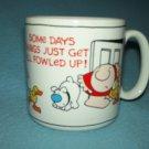 Vintage ZIGGY Mug SOME DAYS FOWLED UP 1985 Ducks