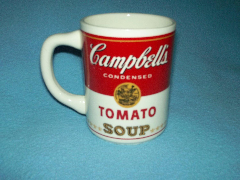 a7832c1a2b5 CAMPBELL'S TOMATO SOUP Mug USA Mark TOMATO SOUP CAN