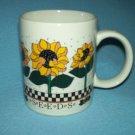 SEEDS Sunflowers MUG B & D Bright and Cheerful Flowers
