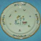 INTERNATIONAL STONEWARE Heartland SALAD PLATE 7 1/2 IN. Cow Farmer Flowers