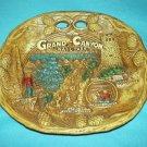 Vintage GRAND CANYON NATL. PARK Plaque Tray TACO Bark Design