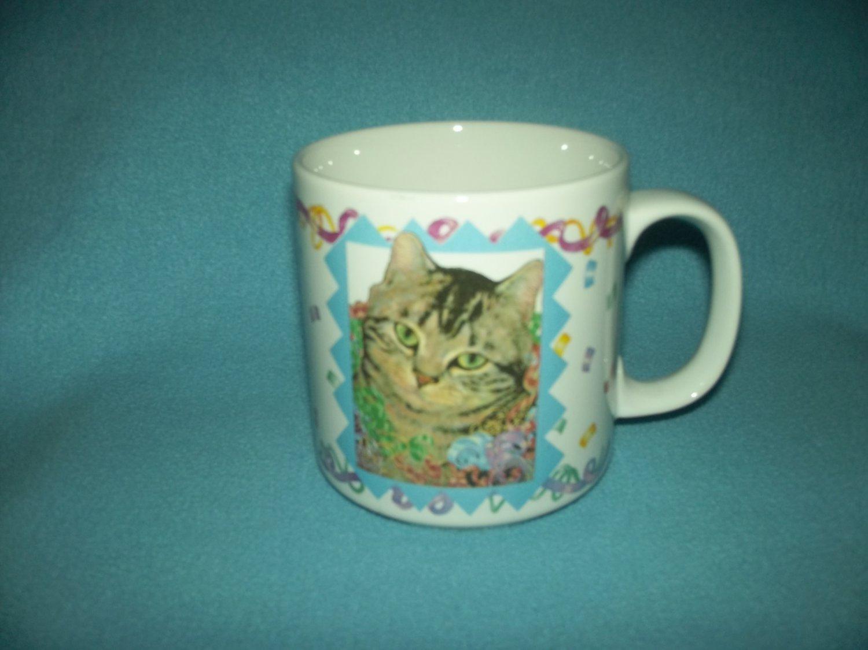 Applause Mug Glenna Cat IncColorful Hartwell Kitty TFKJcl13