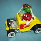 M AND Ms M&Ms CANDY CLASSY CHASSIS HOT ROD CAR DISPENSER