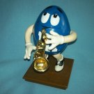 M AND Ms M&Ms CANDY JAZZY SAXOPHONE PLAYER DISPENSER