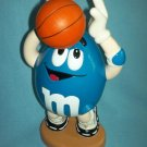 M AND Ms M&Ms CANDY BASKETBALL PLAYER DISPENSER