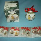 Vintage 1993 HUTSCHENREUTHER Christmas Ball Ornament IN BOX Ole Winther GERMANY