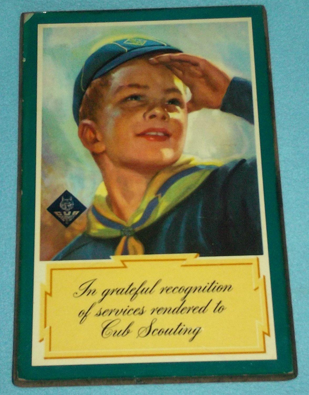 Vintage Cub Scouts 99