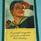 Vintage CUB SCOUTS BOY SCOUTS Award Plaque 1955 Cleveland Pack 81 SCOUTING