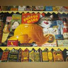 CHARLES WYSOCKI 750 pc JIGSAW PUZZLE~Ethel the Gourmet~COMPLETE~Cat~Buffalo Games