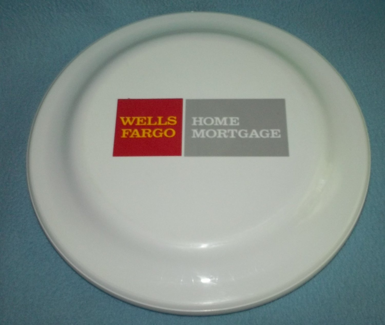WELLS FARGO HOME MORTGAGE Humphrey Flyer FRISBEE Advertising Plastic FLYING DISK