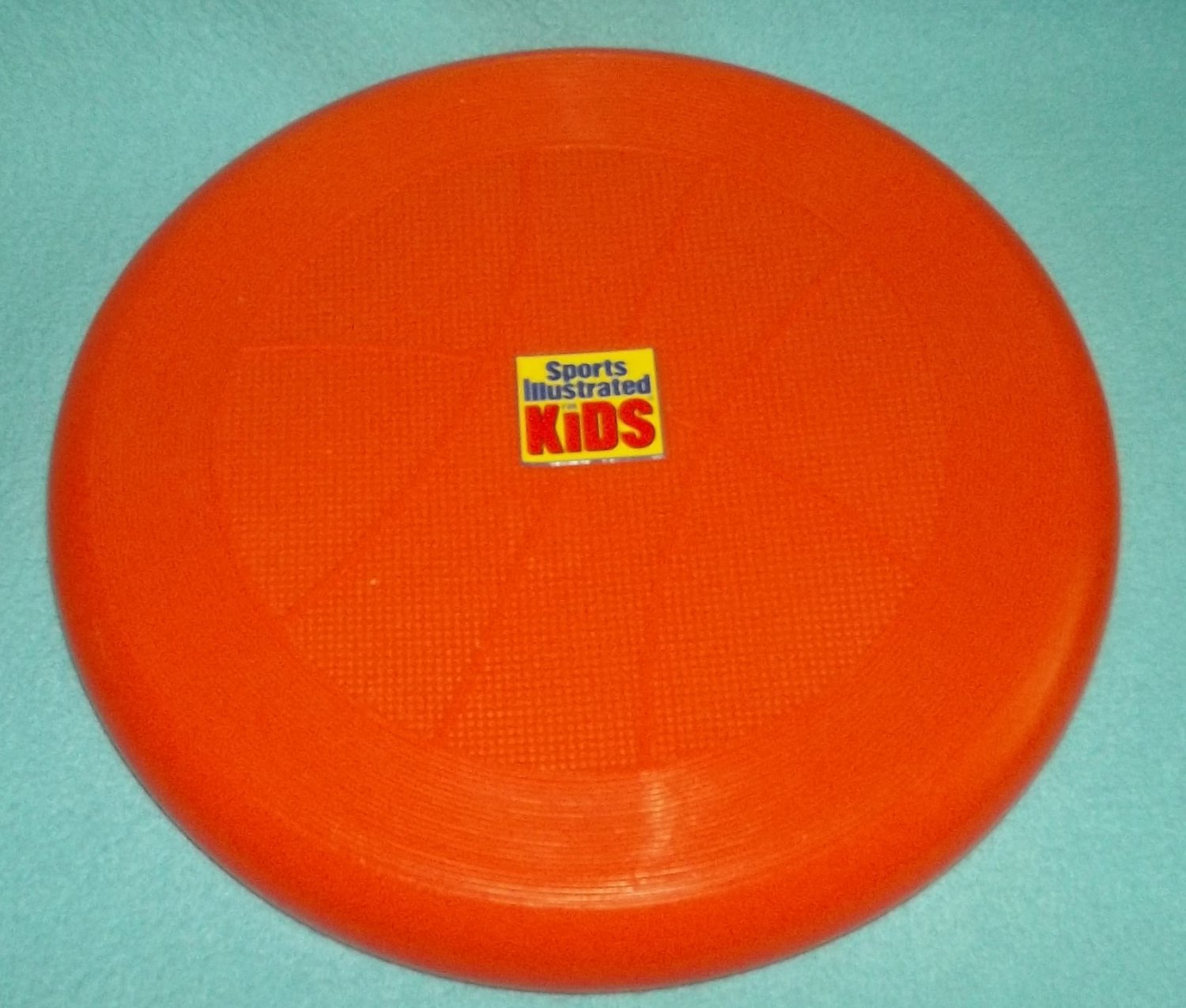 SPORTS ILLUSTRATED for KIDS Subway 1998 FRISBEE Advertising Plastic FLYING DISK