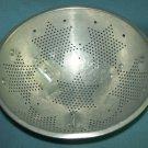 Vintage ALUMINUM Strainer Colander 7 STAR Country DESIGN Handles 1950's Kitchenware