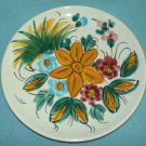 Lovely HAND GEMALT Germany Tyrol HAND PAINTED Plate Orange Flowers