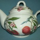 PORTMEIRION POMONA Royal George PEACH Teapot ENGLAND Gorgeous!