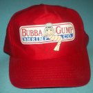 BUBBA GUMP SHRIMP CO. Baseball Cap Hat FORREST GUMP Adjustable Snapback RED