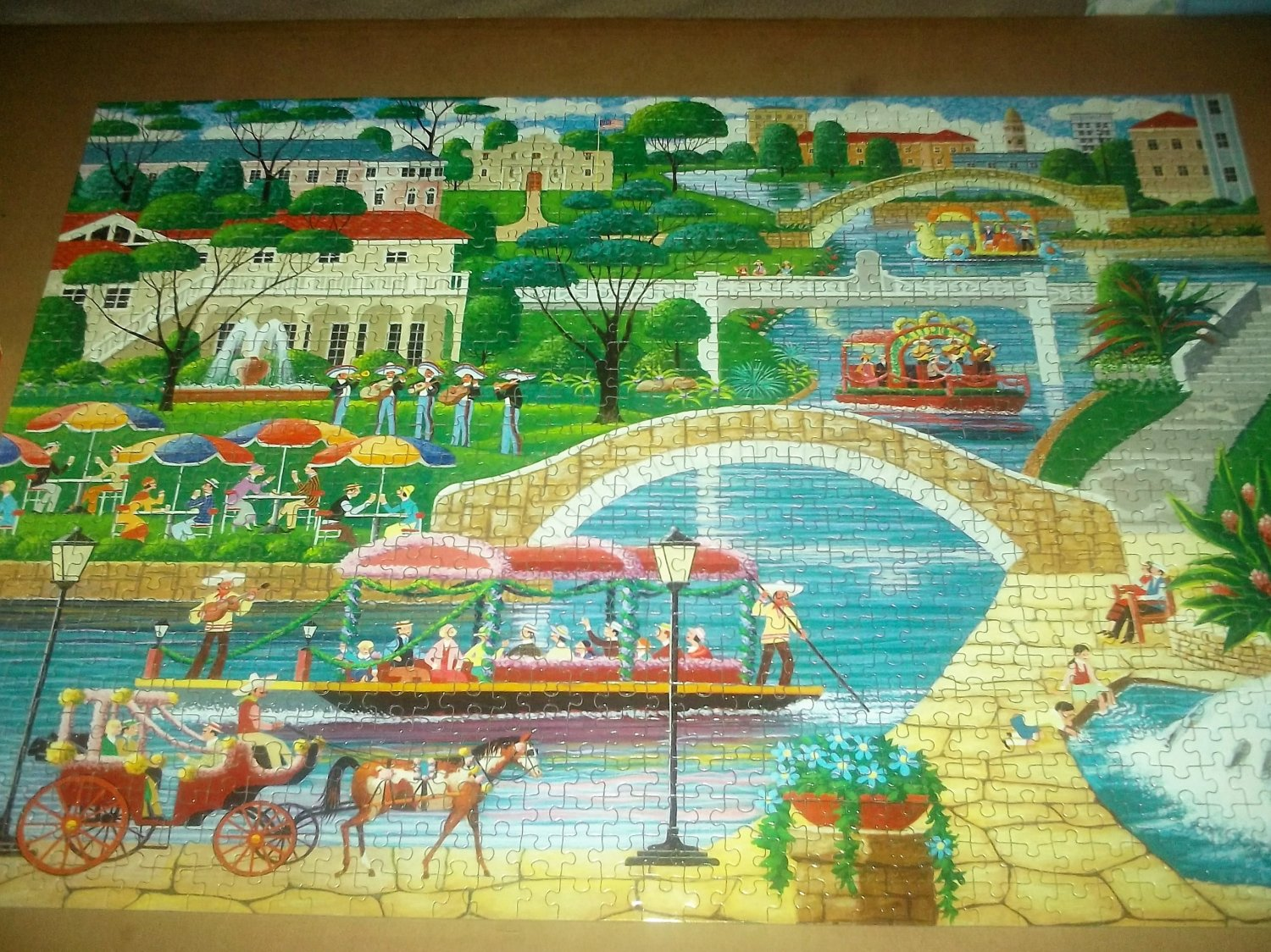 Hometown Kitchen Designs Mega Hometown Collection Jigsaw Puzzle Heronim Wysocki