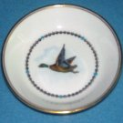 ROYAL WORCESTER Duck Fowl Bird TRINKET DISH Coaster MADE IN ENGLAND Bone China