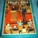 HIGH BID 1965 Vintage Bookshelf BOARD GAME 3M Company AUCTION GAME Art Antiques