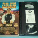 FOUR EYES AND SIX GUNS~VHS~JUDGE REINHOLD, FRED WARD, PATRICIA CLARKSON~1992