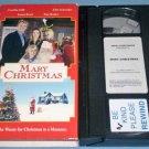 MARY CHRISTMAS~VHS~JOHN SCHNEIDER, CYNTHIA GIBB, TOM BOSLEY~FAMILY~2002