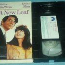 A NEW LEAF~VHS~WALTER MATTHAU, ELAINE MAY, JAMES COCO~1970 HTF COMEDY GEM!