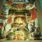 HOWARD ROBINSON Jigsaw Puzzle HOLIDAY TRADITIONS Ceaco 550 pcs CHRISTMAS ANIMALS 2008