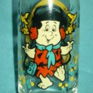THE FLINTSTONES Freddy Fred GLASS 1986 PIZZA HUT PROMO
