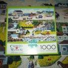 Buffalo Games 1000 PC JIGSAW PUZZLE ~CHARLES WYSOCKI~CRICKETHAWK HARBOR~COMPLETE