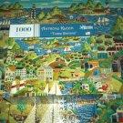ANTHONY KLEEM Jigsaw Puzzle THREE SISTERS 1000 PC Ships Nostalgic Scene Lighthouse